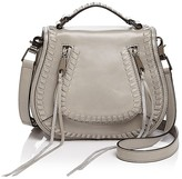 Rebecca Minkoff Vanity Small Leather Saddle Bag