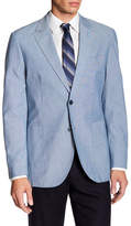 Tailorbyrd Classic Notch Collar Chambray Sport Coat