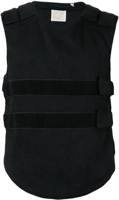 Helmut Lang Pre Owned 1998 Curved Hem Bullet Proof Vest