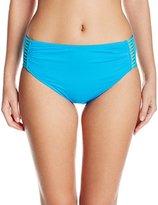 CoCo Reef Women's Horizon Hera High Waist Strappy Bikini Bottom