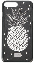 Dolce & Gabbana pineapple print iPhone 7 case - men - Leather/rubber - One Size