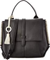 Badgley Mischka Barret Leather Satchel