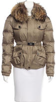 Burberry Fur-Trimmed Puffer Coat