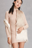 Forever 21 FOREVER 21+ Alex And Max Faux Fur Vest