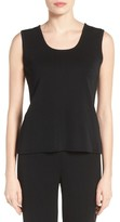 Ming Wang Women's Trim Knit Tank