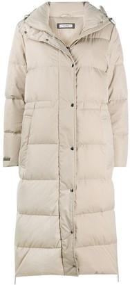 Peserico High-Neck Padded Coat