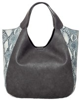 Urban Originals 'Masterpiece' Faux Leather Tote - Grey