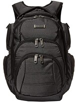 Kenneth Cole Reaction Pack of All Trades Computer Backpack (Pindot Charcoal) Backpack Bags