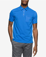 Calvin Klein Men's Soft Touch, Classic-Fit Textured Logo Polo