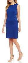 Preston & York Erin Ponte Suiting Sheath Dress