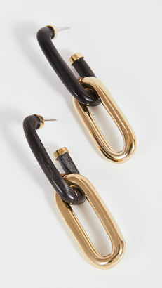 Soko Horn Capped Link Earrings