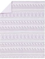 Pottery Barn Kids Keira Paisley Embroidered Toddler Quilt
