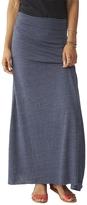 Alternative Double Dare Eco-Jersey Maxi Skirt