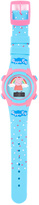 Peppa Pig Light Blue Rainbow Digital Watch
