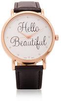 "New York & Co. ""Hello Beautiful"" Watch"