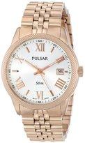 Pulsar Women's PS9232 Analog Display Japanese Quartz Gold Watch