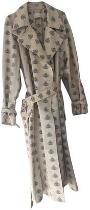 Chloé Ecru Cotton Trench Coat for Women