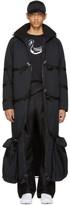 Cottweiler Black Long Puffer Coat