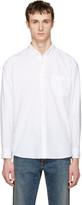 Sacai White Oxford Shirt