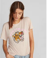 Express wild for love boyfriend tee