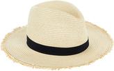 Accessorize Frayed Edge Fedora Hat