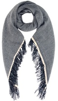 Isabel Marant Swann Wool And Cashmere Scarf