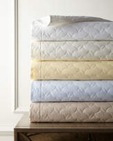 Sferra King Percale Quilt