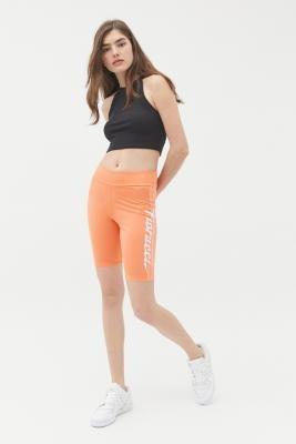 Adidas Originals,Fiorucci adidas Originals X Fiorucci Cycling Shorts - Orange UK 6 at Urban Outfitters