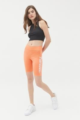 Urban Outfitters adidas Originals X Fiorucci Cycling Shorts - Orange UK 6 at