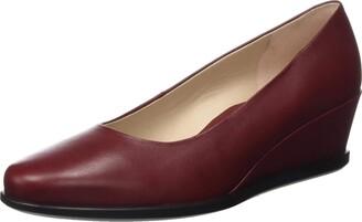 Ecco Women's Shape 45 Wedge Syrah Frisson Loafers 3.5 UK