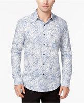 Tasso Elba Men's Paisley Supima® Cotton Shirt, Created for Macy's