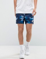 Nike Woven Shorts In Blue 833879-436