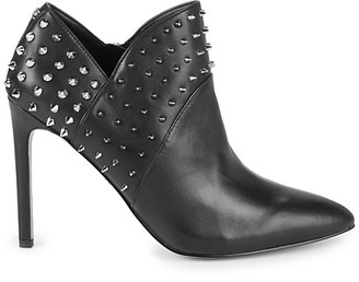 Sam Edelman Wally Studded Leather Stiletto Booties