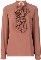 No.21 frill-detail blouse