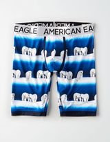 "American Eagle Outfitters AE Polar Bear 9"" Flex Boxer Brief"