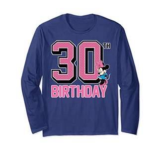 Disney DisneyMinnie Mouse 30th Birthday Long Sleeve T-Shirt