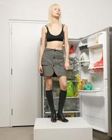 Helmut Lang Plaid Skirt