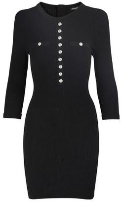 Balmain Short button-down dress