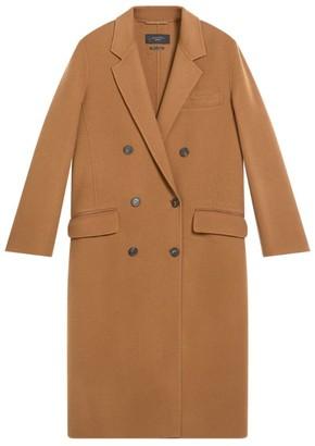 Max Mara Virgin Wool Double-Breasted Torbole Coat