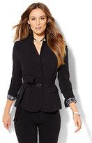 New York & Co. 7th Avenue Design Studio - Tie-Waist Jacket - Signature Fit - Double Stretch