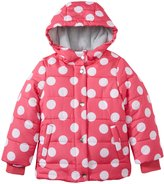 Carter's Heavy Bubble Jacket (Toddler/Kid) - Pink Dot-6X