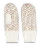 Women's SONOMA Goods for LifeTM Honeycomb Mittens