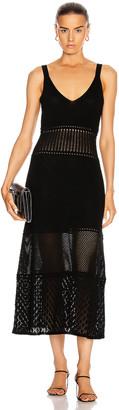 Alexis Rozanna Dress in Black | FWRD