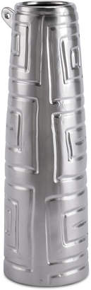 ZUO Azteca Matte Silver-Tone Small Jar