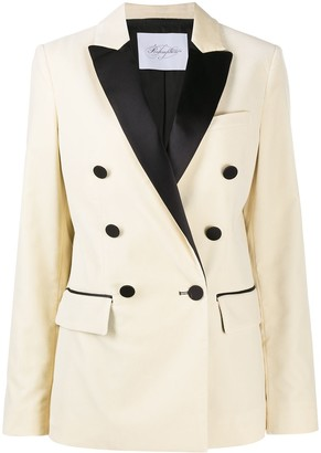 Redemption Double Breasted Long-Sleeve Blazer