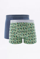 Urban Outfitters Cactus Print Boxer Trunks Pack