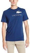 Lacoste Men's Seg 1 Chest Graphic Logo Tee