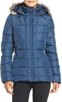 The North Face Women's 'Gotham' Faux Fur Trim Down Jacket
