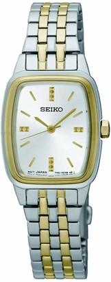 Seiko Womens Analogue Quartz Watch with Stainless Steel Strap SRZ472P1