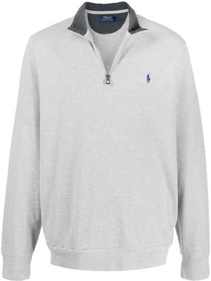 Polo Ralph Lauren Funnel Neck Logo Sweater
